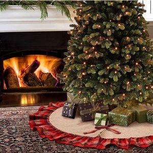 🎀 NEW Plaid Christmas Tree Skirt🎀